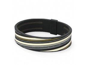 line armband black cream