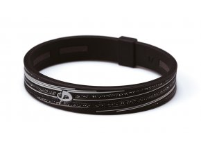 s slash armband black grey