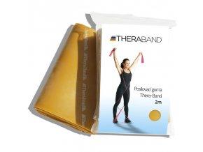 Thera-band, maximální zátěž, zlatá