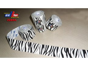 Kineziotape BB Tape s designem zebry
