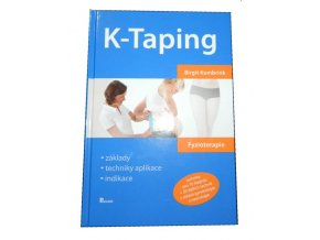 K-taping Birgit Kumbrink - kniha o tejpování