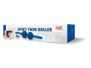 Dvojitý masážní ježek Spiky Twin Roller