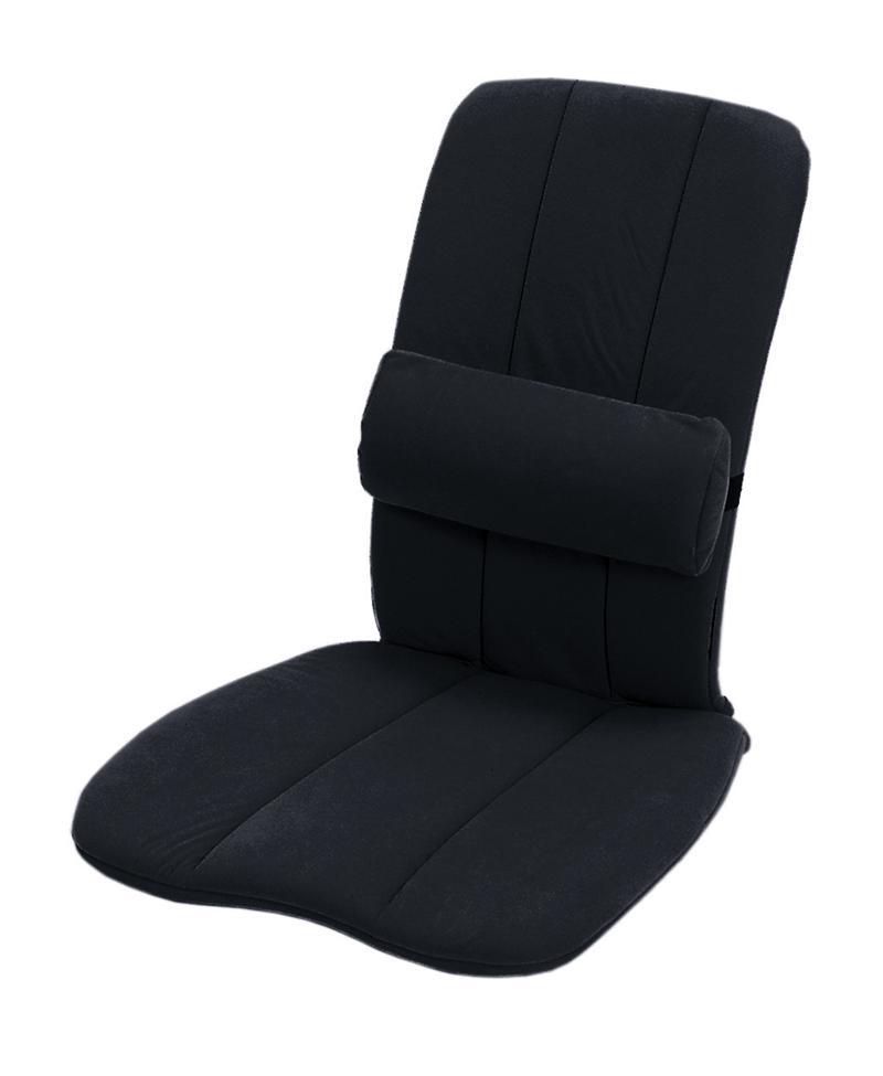 Univerzální podložka na sezení- Sissel DorsaBack Barva: černá
