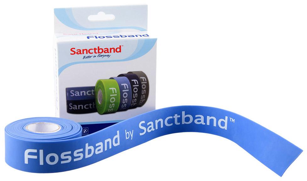 Sanctband Flossband 2,5 cm Barva: modrá