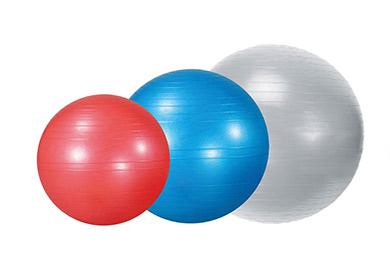 Azuni Gymnastický míč Provedení míče: 75 cm - stříbrná