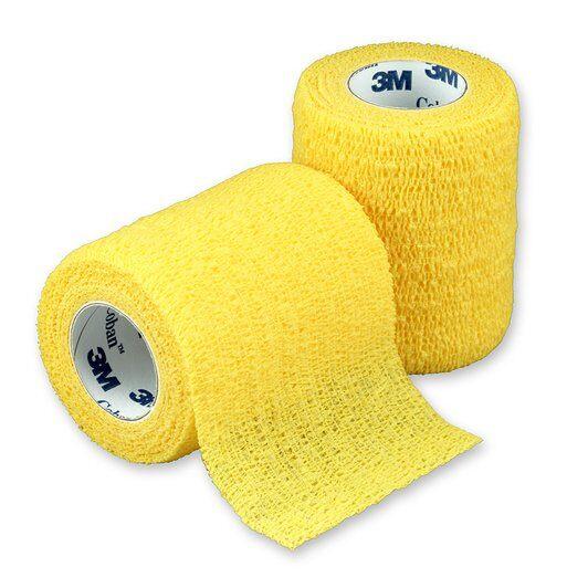 3M Coban elastické samofixační obinadlo Barva: žlutá, Výška: 7,5 cm