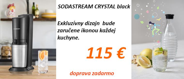 SODASTREAM CRYSTAL black