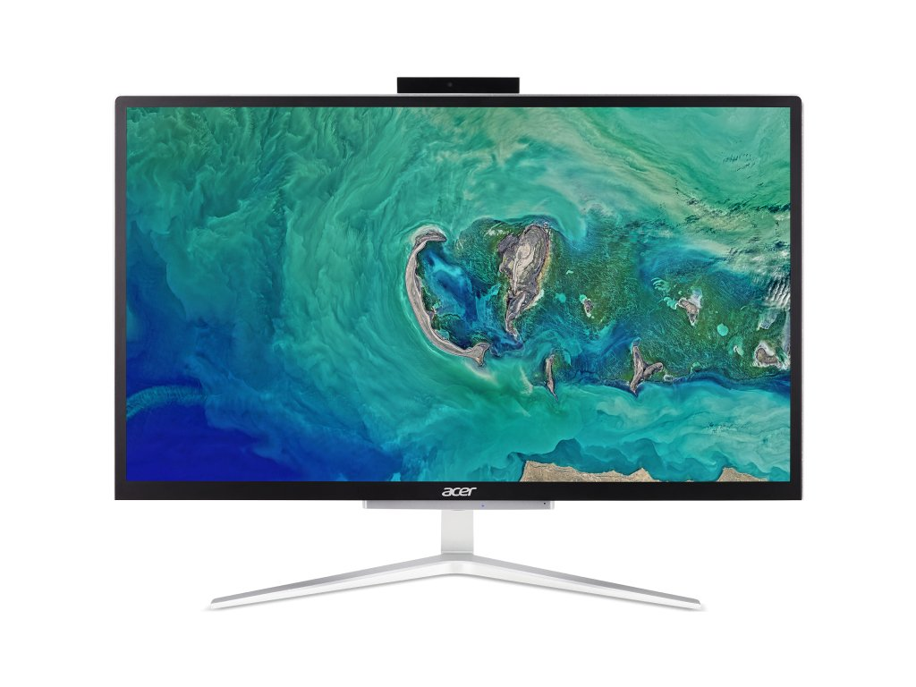"""ACER PC AiO Aspire C22-820 - 21,5"""" FHD, Pentium J5040, 4GB, 256 GB M.2 SSD, UHD Graphics 600, Windows® 10"""