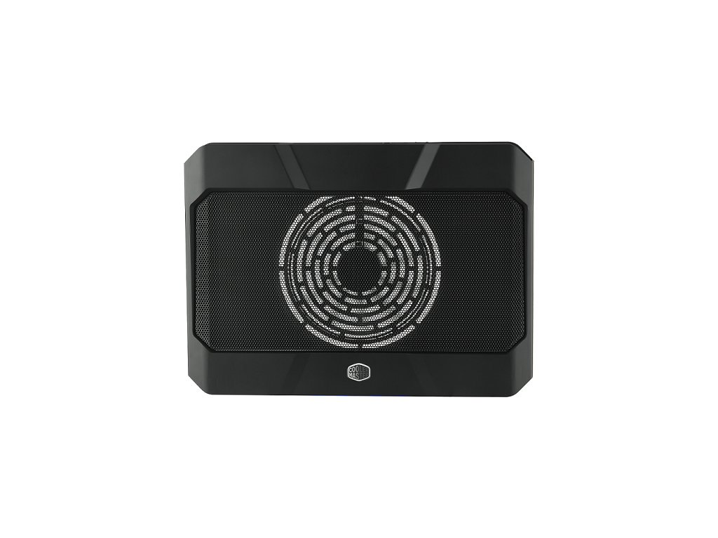 """Cooler Master chladící podstavec NotePal X150R pro notebook do 17"""", černá"""