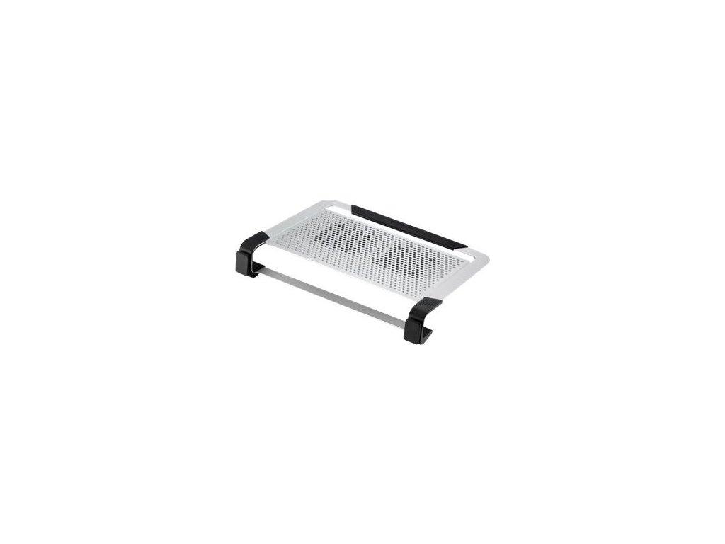 """Cooler Master chladící podstavec NotePal U2 PLUS pro notebook 12-17"""", 2x8cm, stříbrná"""