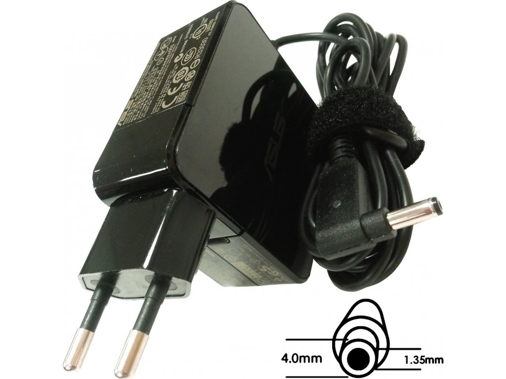 Asus orig. adaptér 45W19V (BLK) s EU plugem (B0A001-00230300)