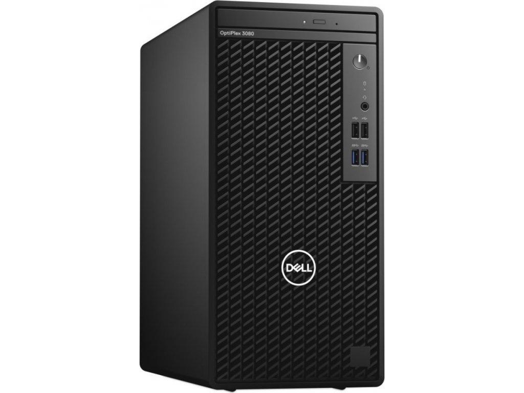 DELL PC OptiPlex 3080 MT/Core i5-10500/8GB/256GB SSD/Intel UHD 630/TPM/DVD RW/Kb/Mouse/260W/W10Pro/3Y Basic Onsite