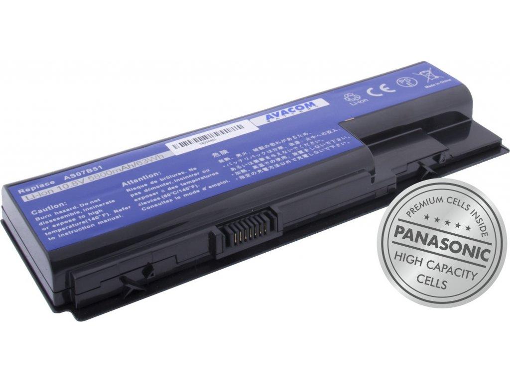 Baterie AVACOM NOAC-6920-P29 pro Acer Aspire 5520/6920 Li-Ion 10,8V 5800mAh 63Wh