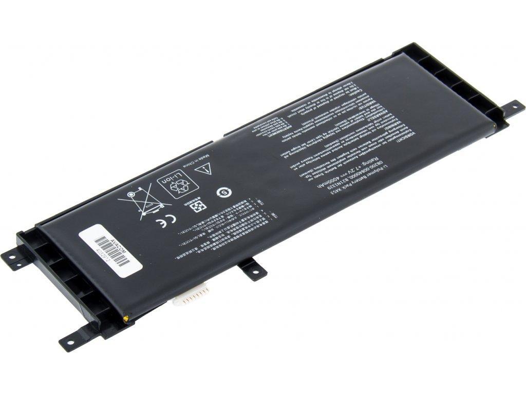 Baterie AVACOM NOAS-X553-P40 pro Asus X553 / F553 Li-Pol 7,2V 4000mAh