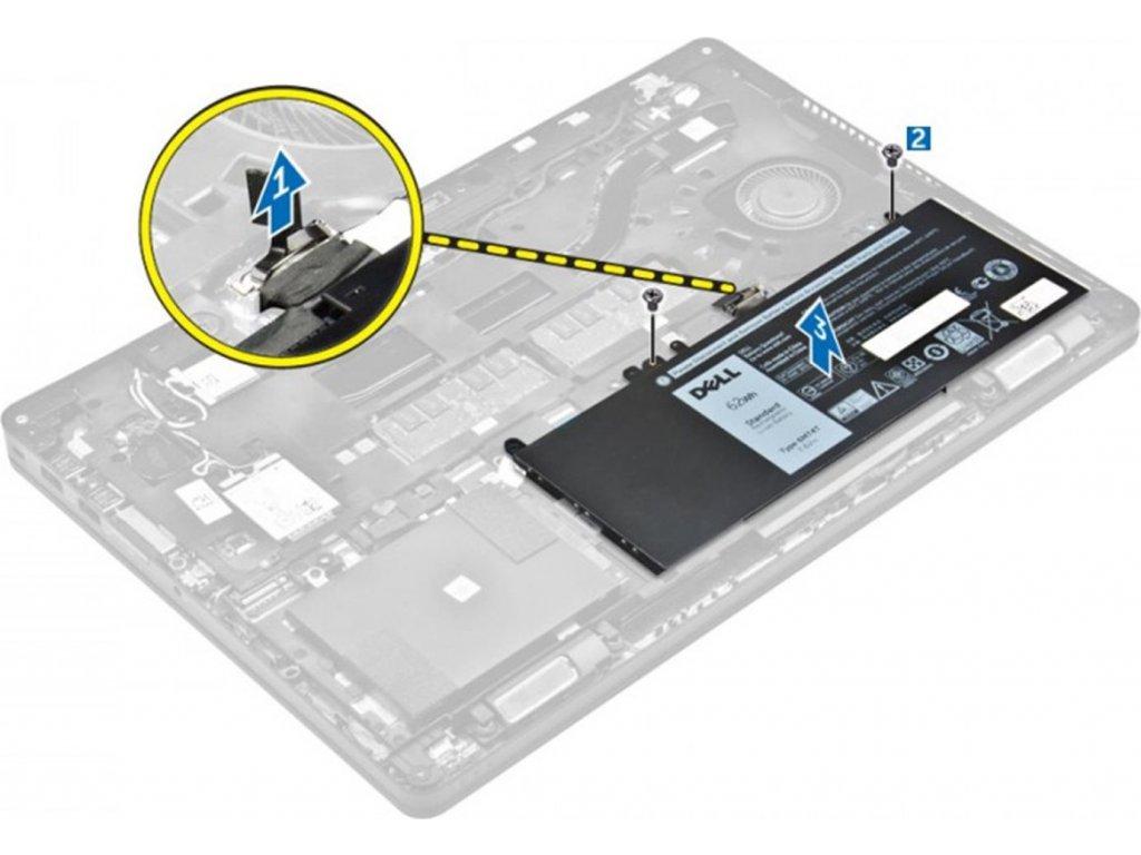 Dell 47WHr 3-Cell Battery Customer Install pre Latitude E5x70