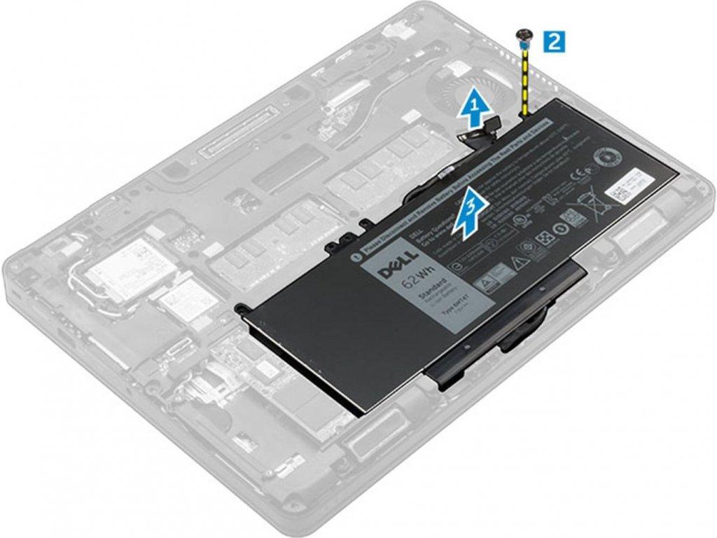 DELL  62WHr 4-Cell Battery Customer Install pre Latitude 5x70