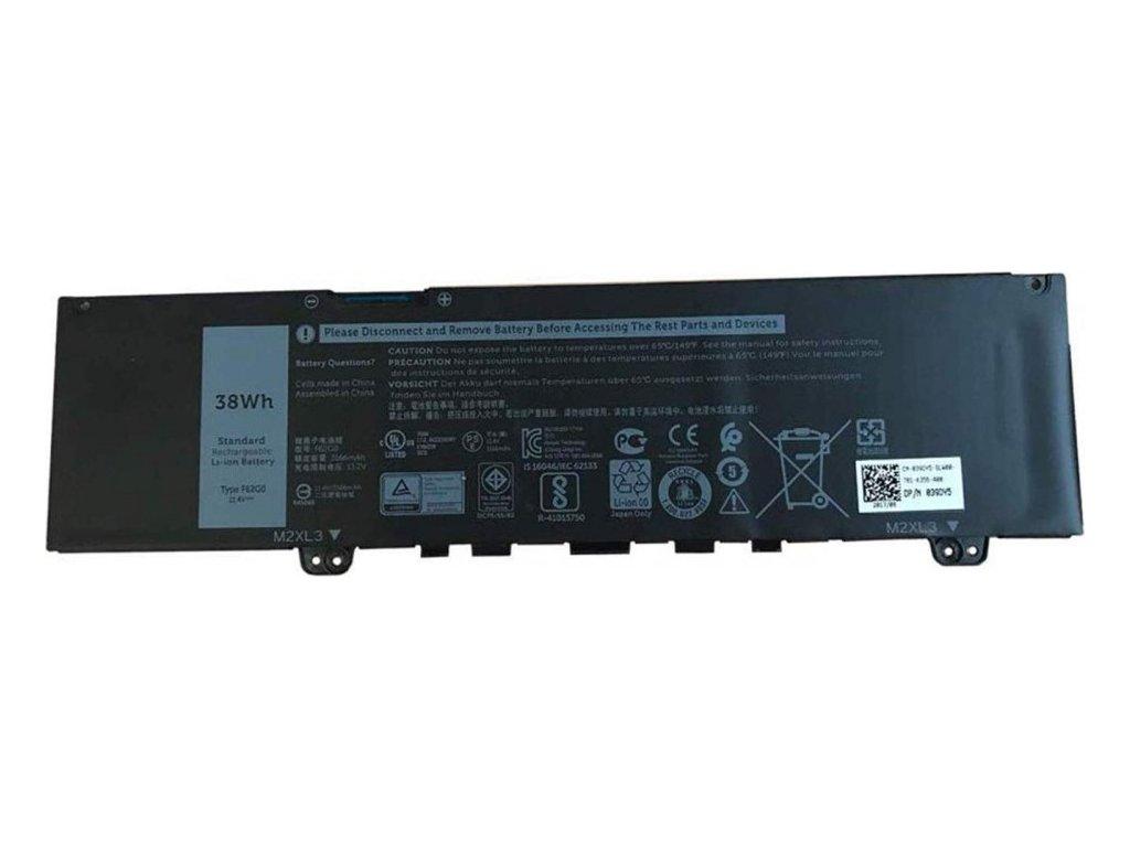 Dell Baterie 3-cell 38W/HR LI-ION pro Inspiron 7386, Vostro 5370