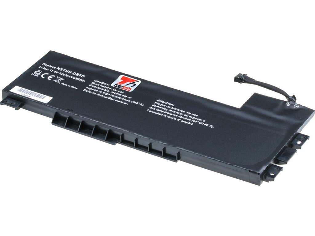 Baterie T6 power HP ZBook 15 G3, 15 G4, 7200mAh, 82Wh, 9cell, Li-pol