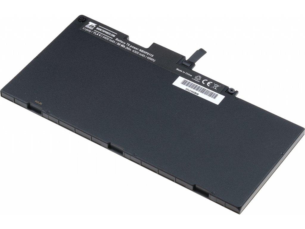 Baterie T6 power HP EliteBook 745 G3, 755 G3, 840 G3, 850 G3, 4400mAh, 50Wh, 3cell, Li-pol