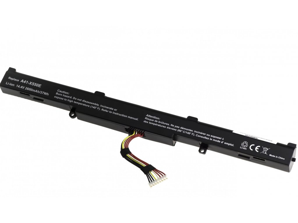 Baterie T6 power Asus X450J, X550Z, X750J, X751L, X751LA, X751MA, 2600mAh, 37Wh, 4cell, Li-ion