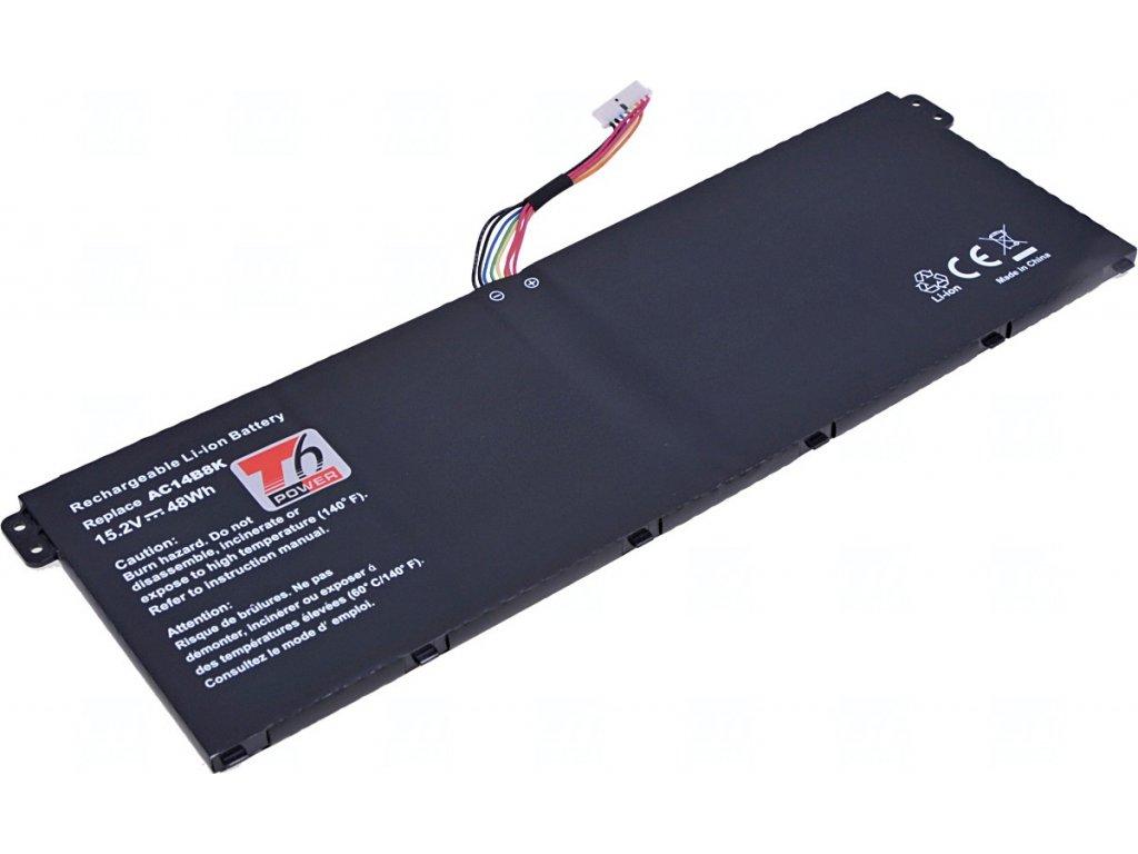 Baterie T6 power Acer Aspire ES1-311, ES1-511, E5-571, E5-731, E5-771, 3150mAh, 48Wh, 4cell, Li-ion