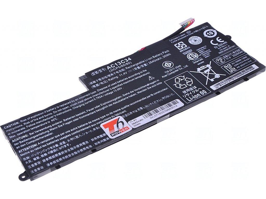 T6 Power NBAC0082 2640 mAh batéria - neoriginálna