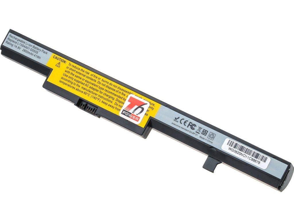 Baterie T6 power Lenovo B40-30, E40-30, E50-70, N40-30, N50-30, 2800mAh, 41Wh, 4cell