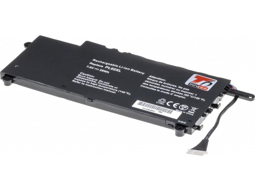 Baterie T6 power HP Pavilion 11-n000, 11-n100, 11-n200 x360 serie, 3800mAh, 29Wh, 2cell, Li-pol
