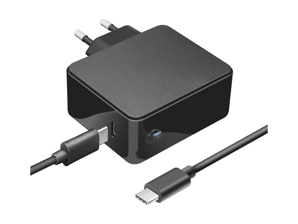 TRUST napájecí adaptér MAXO pro notebooky Apple Macbook 61W USB-C