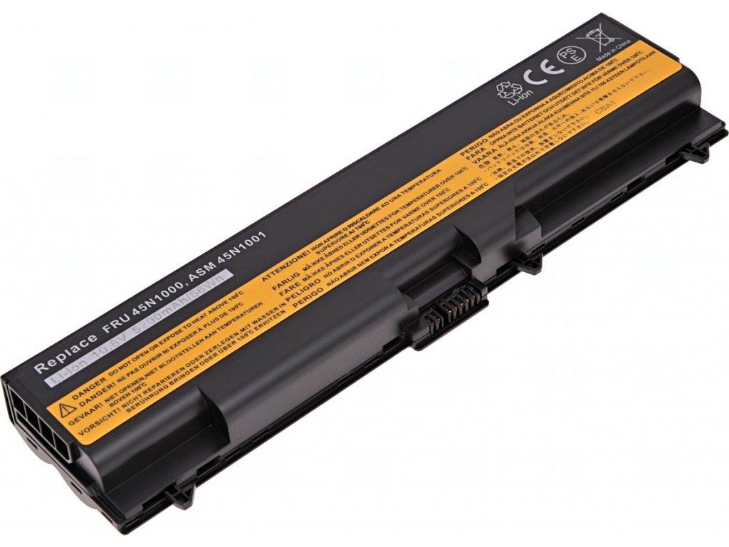 Baterie T6 power Lenovo ThinkPad T430, T430i, T530, T530i, L430, L530, W530, 5200mAh, 56Wh, 6cell