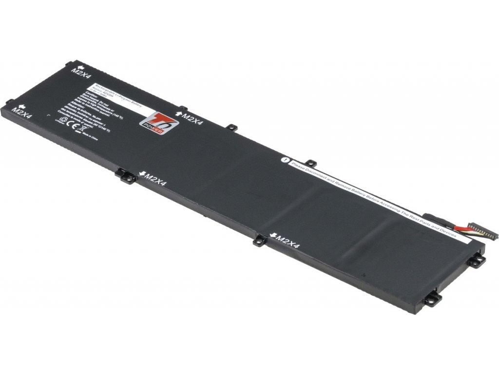 Baterie T6 power Dell Precision 15 5510, XPS 15 9550, 7300mAh, 84Wh, 6cell, Li-pol