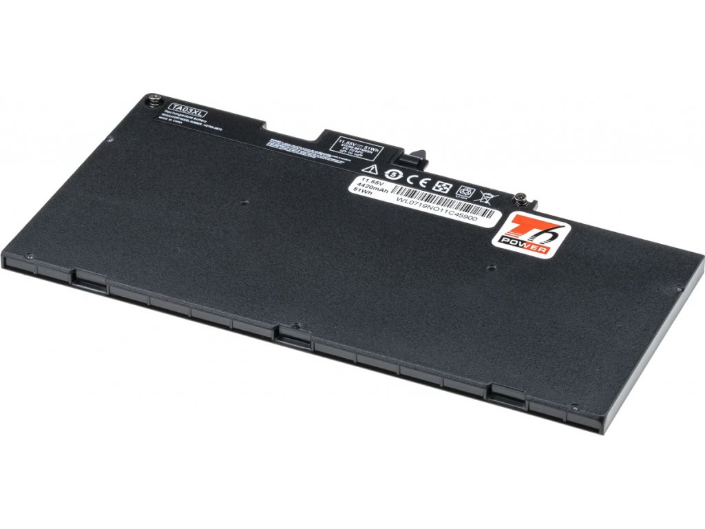 Baterie T6 power HP EliteBook 745 G4, 755 G4, 840 G4, 848 G4, 850 G4, 4420mAh, 51Wh, 3cell, Li-pol