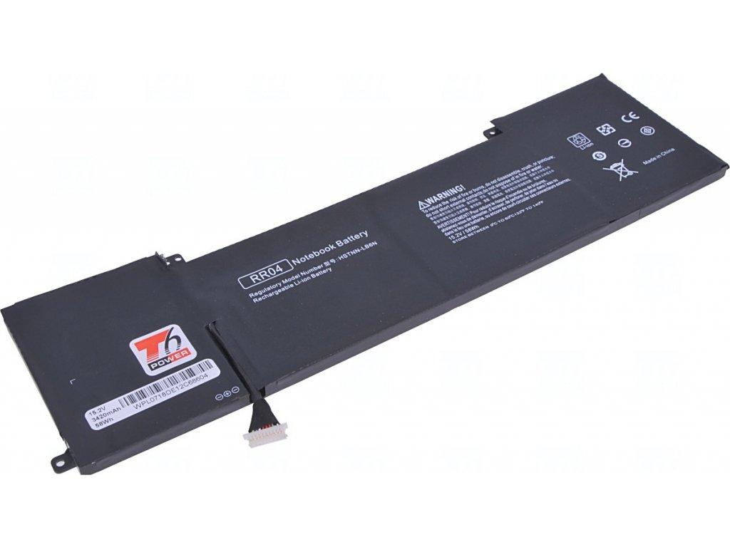 Baterie T6 power HP Omen 15-5000, 15-5100, 15-5200 serie, 3820mAh, 58Wh, 4cell, Li-pol