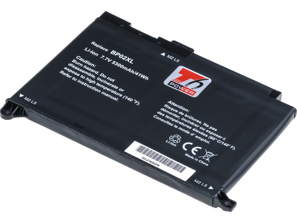 Baterie T6 power HP Pavilion 15-au000, 15-au100, 15-aw000, 15-aw100, 5300mAh, 41Wh, 2cell, Li-pol