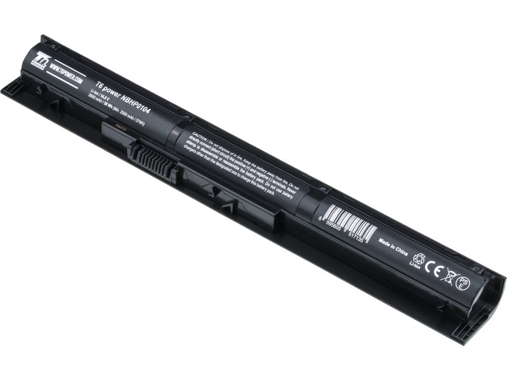 Baterie T6 power HP ProBook 440 G2, 445 G2, 450 G2, 455 G2, VI04XL, 2600mAh, 38Wh, 4cell