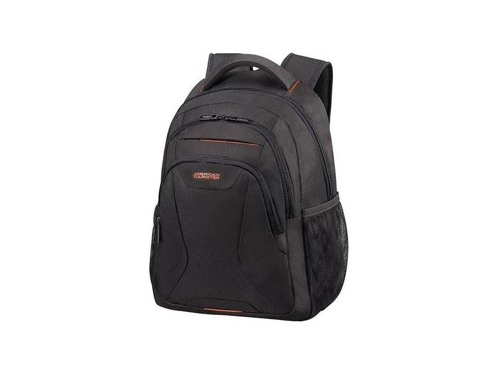 "Samsonite American Tourister AT WORK lapt. backpack 13,3"" - 14.1"" Black/orange"