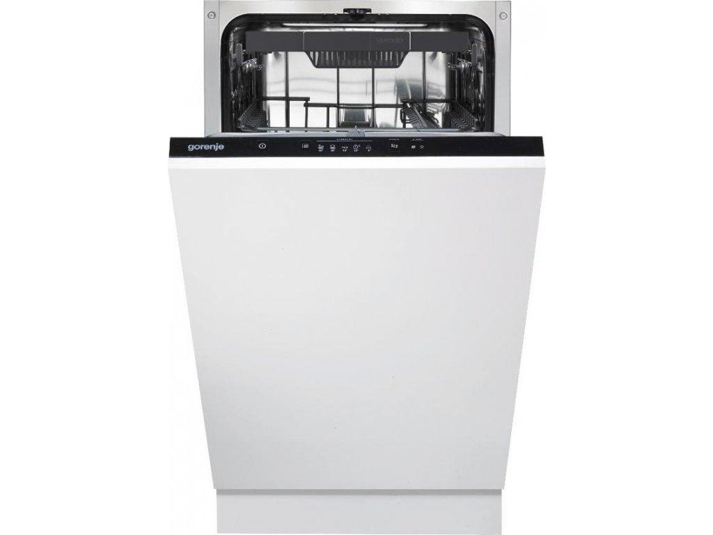 GV520E10 umývačka riadu vst.45cm GORENJE