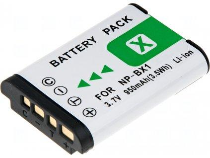 Baterie T6 power Sony NP-BX1, 1080mAh, šedá