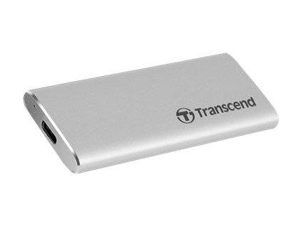 TRANSCEND TS240GESD240C Transcend 240GB, external SSD, ESD240C, USB 3.1 Gen 2, Type C, R/W 520/460 MB/s
