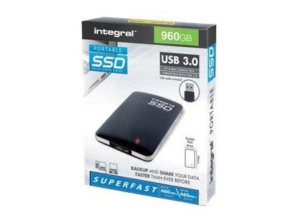 INTEGRAL INSSD240GPORT3.0 Integral PORTABLE SSD EXTERNAL, 240GB, USB3.0, R/W 400/370 MB/s