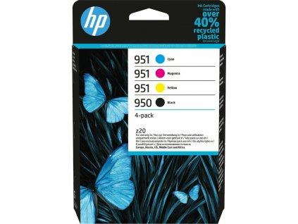 HP 950 Black/951 CMY Original Ink Cartridge 4-Pack