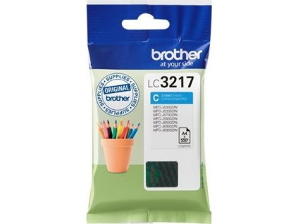BROTHER LC3217C Atrament Brother LC3217C cyan