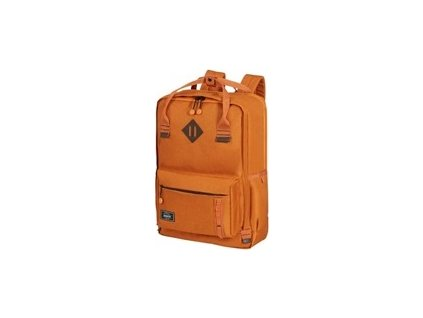 "Samsonite American Tourister URBAN GROOVE LIFESTYLE Backpack 5 17.3"" Saffron"