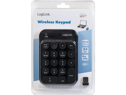 LOGILINK ID0173 LOGILINK - Wireless Keypad, 2.4 GHz