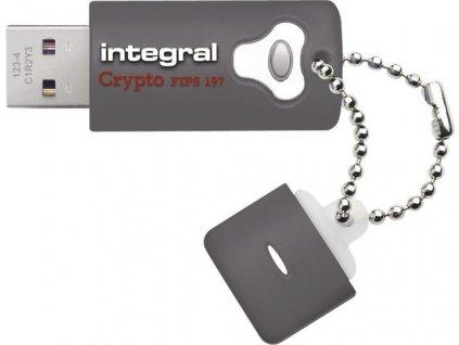 INTEGRAL INFD16GCRY3.0197 USB flash disk CRYPTO 3.0 16GB AES 256 bit šifrovanie FIPS 197