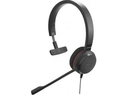Jabra Evolve 20, Mono, USB, leather