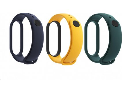 Mi Smart Band 5 Strap (Blue,Yellow,Green)