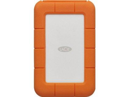 LACIE RUGGED 2TB USB-C USB3.0 Drop crush and rain-resistant for all terrain use orange