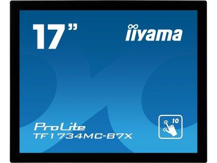 iiyama TF1734MC-B7X, 43.2 cm (17''), Projected Capacitive, 10 TP, black