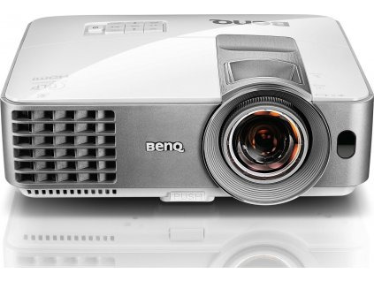 BENQ MW632ST DLP; WXGA; 3200 ANSI ,13000:1,1.2X, D-sub,HDMI,USB,S-Video vstup,Reproduktor 10W x 1